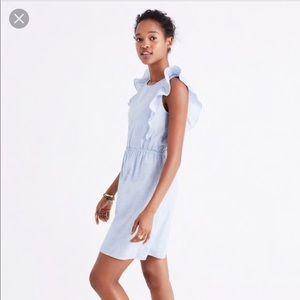 Madewell bellflower dress size 4